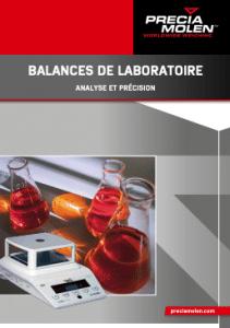 balances de laboratoire