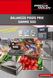 balances poids prix gamme 500