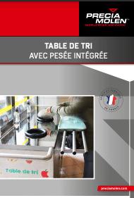 table de tri
